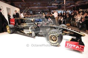 Autosport International 2011. Renault 2011 livery launch. Digital ref : 0046CB1D5964