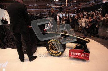 Autosport International 2011. Renault 2011 livery launch. Digital ref : 0046CB1D5931