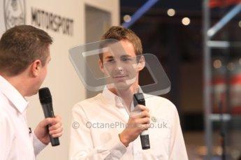 Autosport International 2011. Renault 2011 livery launch. Digital ref : 0046LW7D2443