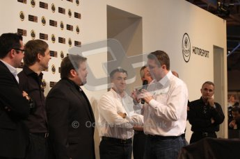 Autosport International 2011. Renault 2011 livery launch. Digital ref : 0046LW7D2469