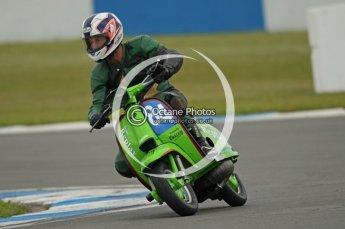 © Octane Photographic Ltd. Superstars meeting, Donington Park, Sunday 19th June 2011. All Heat/Replay British Scooter Championship. Digital Ref : 0080CB1D5178
