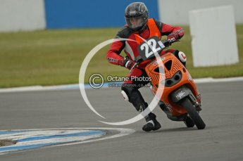 © Octane Photographic Ltd. Superstars meeting, Donington Park, Sunday 19th June 2011. All Heat/Replay British Scooter Championship. Digital Ref : 0080CB1D5202