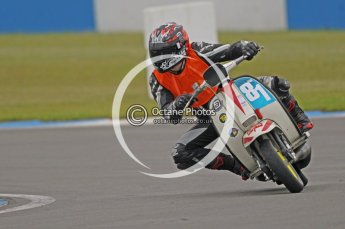© Octane Photographic Ltd. Superstars meeting, Donington Park, Sunday 19th June 2011. All Heat/Replay British Scooter Championship. Digital Ref : 0080CB1D5269