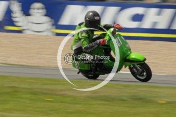 © Octane Photographic Ltd. Superstars meeting, Donington Park, Sunday 19th June 2011. All Heat/Replay British Scooter Championship. Digital Ref : 0080CB1D5755