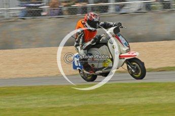 © Octane Photographic Ltd. Superstars meeting, Donington Park, Sunday 19th June 2011. All Heat/Replay British Scooter Championship. Digital Ref : 0080CB1D5771