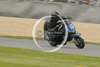 © Octane Photographic Ltd. Superstars meeting, Donington Park, Sunday 19th June 2011. All Heat/Replay British Scooter Championship. Digital Ref : 0080CB1D5802