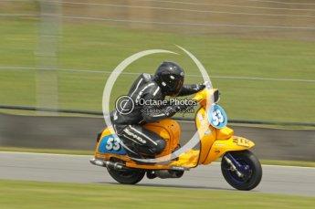 © Octane Photographic Ltd. Superstars meeting, Donington Park, Sunday 19th June 2011. All Heat/Replay British Scooter Championship. Digital Ref : 0080cb1d5844