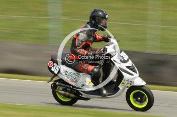 © Octane Photographic Ltd. Superstars meeting, Donington Park, Sunday 19th June 2011. All Heat/Replay British Scooter Championship. Digital Ref : 0080cb1d5847