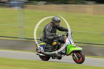 © Octane Photographic Ltd. Superstars meeting, Donington Park, Sunday 19th June 2011. All Heat/Replay British Scooter Championship. Digital Ref : 0080cb1d5856