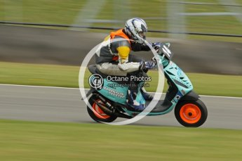 © Octane Photographic Ltd. Superstars meeting, Donington Park, Sunday 19th June 2011. All Heat/Replay British Scooter Championship. Digital Ref : 0080cb1d5885