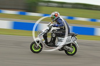 © Octane Photographic Ltd. Superstars meeting, Donington Park, Sunday 19th June 2011. All Heat/Replay British Scooter Championship. Digital Ref : 0080CB7D5141