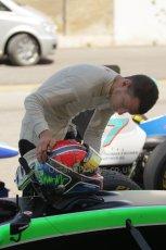 © Octane Photographic Ltd. 2011. European Formula1 GP - Valencia, Saturday 25th June 2011. GP3 Qualifying drivers holding area. Digital Ref:  0088CB1D7541