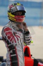 © Octane Photographic Ltd. 2011. European Formula1 GP - Valencia, Saturday 25th June 2011. GP3 Qualifying drivers holding area, Rio Haryanto. Digital Ref:  0088CB1D7609