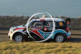 © North One Sport Ltd 2011 / Octane Photographic Ltd 2011. 10th November 2011 Wales Rally GB, WRC SS1 and SS2 Great Orme, Llandudno. Digital Ref : 0195lw7d2213