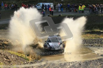 © North One Sport Ltd 2011 / Octane Photographic Ltd 2011. 12th November 2011 Wales Rally GB, WRC SS13 Sweet Lamb. Digital Ref : 0199cb1d8747