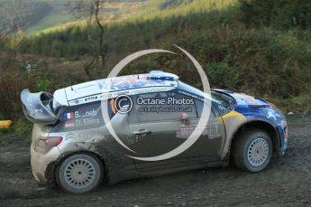 © North One Sport Ltd 2011 / Octane Photographic Ltd 2011. 12th November 2011 Wales Rally GB, WRC SS17 Myherin. Digital Ref : 0198cb1d9342