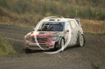 © North One Sport Ltd 2011 / Octane Photographic Ltd 2011. 12th November 2011 Wales Rally GB, WRC SS17 Myherin. Digital Ref : 0198cb1d9401