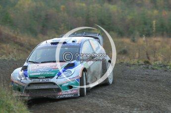 © North One Sport Ltd 2011 / Octane Photographic Ltd 2011. 12th November 2011 Wales Rally GB, WRC SS17 Myherin. Digital Ref : 0198cb1d9508