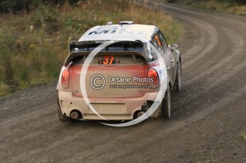 © North One Sport Ltd 2011 / Octane Photographic Ltd 2011. 12th November 2011 Wales Rally GB, WRC SS17 Myherin. Digital Ref : 0198cb1d9583