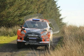 © North One Sport Ltd 2011 / Octane Photographic Ltd 2011. 13th November 2011 Wales Rally GB, WRC SS21 Halfway. Dennis Kuipers and Frederic Miclotte in their Ford Fiesta RS WRC. Digital Ref : 0200CB1D9733