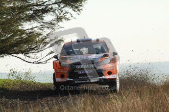 © North One Sport Ltd 2011 / Octane Photographic Ltd 2011. 13th November 2011 Wales Rally GB, WRC SS21 Halfway. Dennis Kuipers and Frederic Miclotte in their Ford Fiesta RS WRC. Digital Ref : 0200LW7D8720