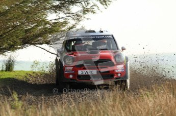 © North One Sport Ltd 2011 / Octane Photographic Ltd 2011. 13th November 2011 Wales Rally GB, WRC SS21 Halfway. Dani Sordo and Carlos Del Barrio in their Mini John Cooper Works. Digital Ref : 0200LW7D8772