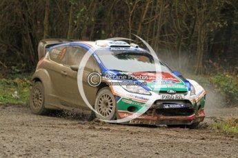© North One Sport Ltd 2011 / Octane Photographic Ltd 2011. 11th November 2011 Wales Rally GB, WRC SS7 Dyfnant. Digital Ref :