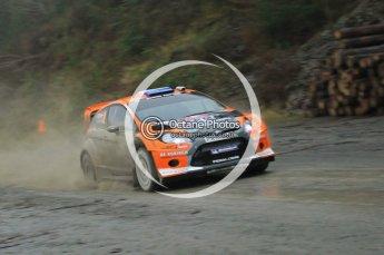 © North One Sport Ltd 2011 / Octane Photographic Ltd 2011. 11th November 2011 Wales Rally GB, WRC SS9 Dyfi East. Digital Ref :