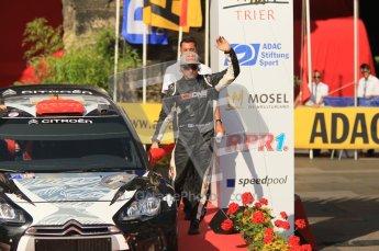 © North One Sport Ltd.2011/Octane Photographic Ltd. WRC Germany – Final Podium - Sunday 21st August 2011. Kimi Raikkonen - Citroen DS3 WRC. Digital Ref : 0153CB1D6325