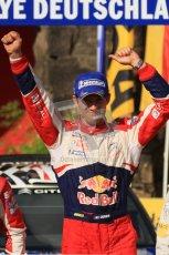 © North One Sport Ltd.2011/Octane Photographic Ltd. WRC Germany – Final Podium - Sunday 21st August 2011. Sebastien Ogier - Citroen DS3 WRC. Digital Ref : 0153LW7D0035