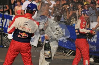 © North One Sport Ltd.2011/Octane Photographic Ltd. WRC Germany – Final Podium - Sunday 21st August 2011. Digital Ref : 0153LW7D0262