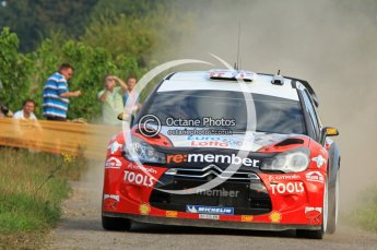 © North One Sport Ltd.2011/Octane Photographic Ltd. WRC Germany – Shakedown stage Thursday 18th August 2011. Digital Ref : 0147CB7D0425