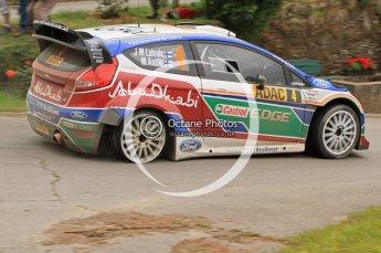 © North One Sport Ltd.2011/Octane Photographic Ltd. WRC Germany – SS3 - Moselland I - Friday 19th August 2011. Digital Ref : 0148LW7D0155