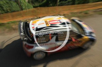 © North One Sport Ltd.2011/Octane Photographic Ltd. WRC Germany – SS6 - Moselland II - Friday 19th August 2011, Sebastien Loeb/Daniel Elena, Citroen DS3 WRC. Digital Ref : 0149LW7D0053