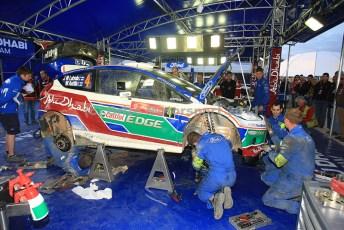 © Grize Motorsport 2011. WRC Portugal. Service actvity. Digital Ref : 0048cam11348