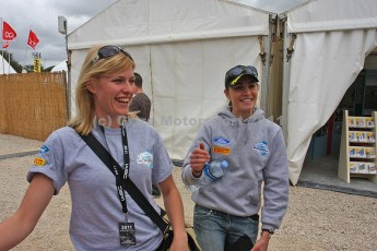 © Grize Motorsport 2011. WRC Portugal. Becca and Molly. Digital Ref : 0048img_8303
