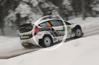 © North One Sport Limited 2011/Octane Photographic Ltd. 2011 WRC Sweden shakedown stage, Thursday 10th February 2011. Digital ref : 0126CB1D0168