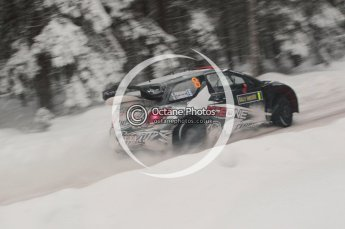 © North One Sport Limited 2011/Octane Photographic Ltd. 2011 WRC Sweden shakedown stage, Thursday 10th February 2011, Kimi Raikkonen/Kaj Lindstrom, Citroen DS3 WRC - Ice One Racing. Digital ref : 0126CB1D0173