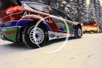 © North One Sport Limited 2011/Octane Photographic Ltd. 2011 WRC Sweden shakedown stage, Thursday 10th February 2011. Digital ref : 0126CB5D8420