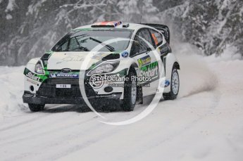© North One Sport Limited 2011/Octane Photographic Ltd. 2011 WRC Sweden shakedown stage, Thursday 10th February 2011. Digital ref : 0126CB5D8457