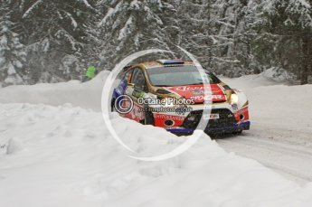 © North One Sport Limited 2011/Octane Photographic Ltd. 2011 WRC Sweden shakedown stage, Thursday 10th February 2011. Digital ref : 0126LW7D8210