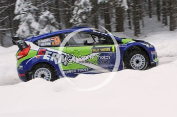 © North One Sport Limited 2011/Octane Photographic Ltd. 2011 WRC Sweden shakedown stage, Thursday 10th February 2011. Digital ref : 0126LW7D8252
