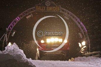 © North One Sport Ltd.2011/ Octane Photographic Ltd.2011. WRC Sweden SS1 Karlstad Arena Super Special, Thursday 10th February 2011. Digital ref : 0139CB1D6781