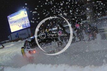 © North One Sport Ltd.2011/ Octane Photographic Ltd.2011. WRC Sweden SS1 Karlstad Arena Super Special, Thursday 10th February 2011. Digital ref : 0139LW7D8491