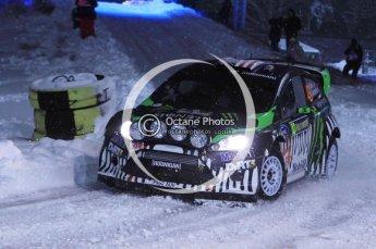 © North One Sport Ltd.2011/ Octane Photographic Ltd.2011. WRC Sweden SS1 Karlstad Arena Super Special, Thursday 10th February 2011. Digital ref : 0139LW7D8499