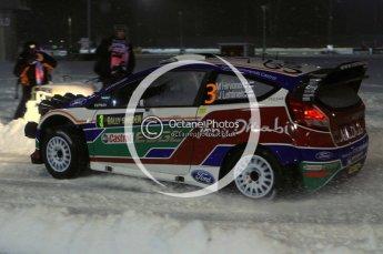 © North One Sport Ltd.2011/ Octane Photographic Ltd.2011. WRC Sweden SS1 Karlstad Arena Super Special, Thursday 10th February 2011. Digital ref : 0139LW7D8561