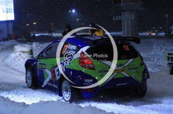 © North One Sport Ltd.2011/ Octane Photographic Ltd.2011. WRC Sweden SS1 Karlstad Arena Super Special, Thursday 10th February 2011. Digital ref : 0139LW7D8589