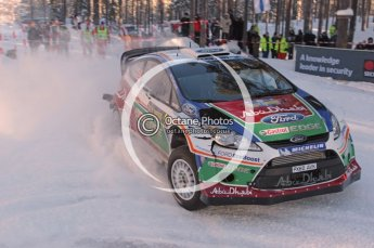 ©  North One Sport Limited 2011/Octane Photographic. 2011 WRC Sweden SS10 Fredericksberg, Saturday 12th February 2011. Digital ref : 0142CB1D7279