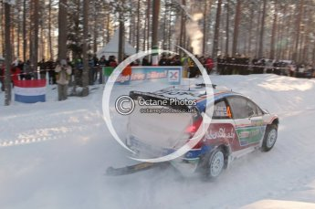 ©  North One Sport Limited 2011/Octane Photographic. 2011 WRC Sweden SS10 Fredericksberg, Saturday 12th February 2011. Digital ref : 0142CB1D7291