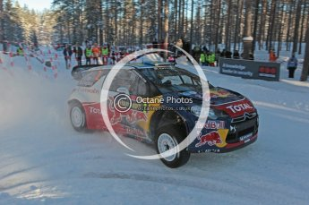 ©  North One Sport Limited 2011/Octane Photographic. 2011 WRC Sweden SS10 Fredericksberg, Saturday 12th February 2011. Digital ref : 0142CB1D7298